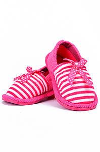 Детские тапочки розовые AAA 128164P