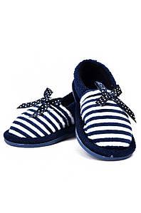 Детские тапочки темно-синие AAA 128166P