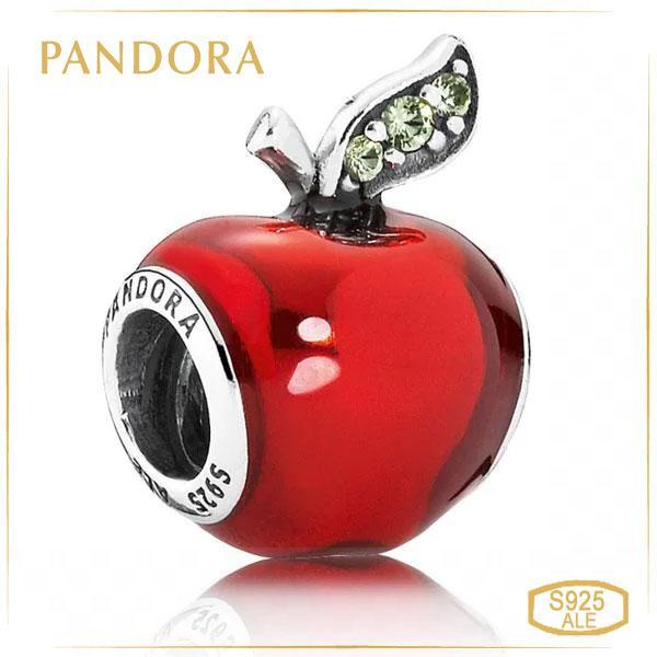 Пандора Шарм «Дисней Красное Яблоко» Pandora 791572EN73