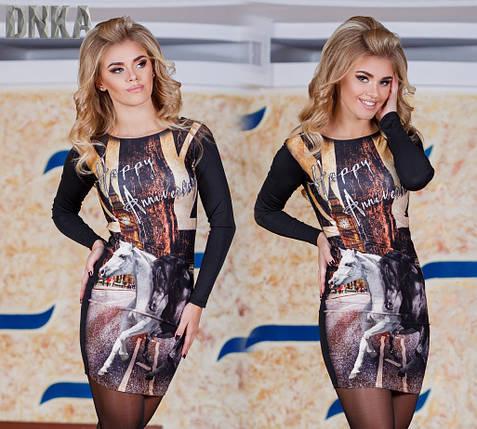 Женское платье 3D, фото 2