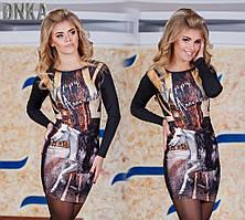 Женское платье 3D