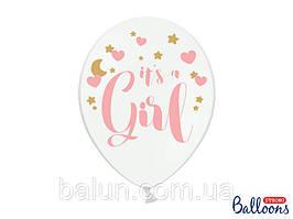 Balloons 30cm, it's a Girl