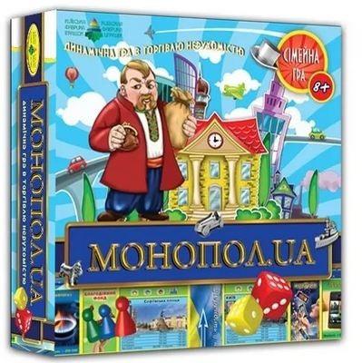 """Настільна гра """"МОНОПОЛ.UA"""" 82210"""