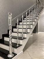 Внутренняя лестница из Лабрадорита 2
