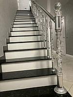 Внутренняя лестница из Лабрадорита 1