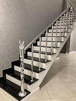 Внутренняя лестница из Лабрадорита 3