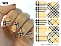 Переводные наклейки на ногти, фото 1