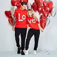 Парные костюмы для влюблённых, можно приобрести просто футболки