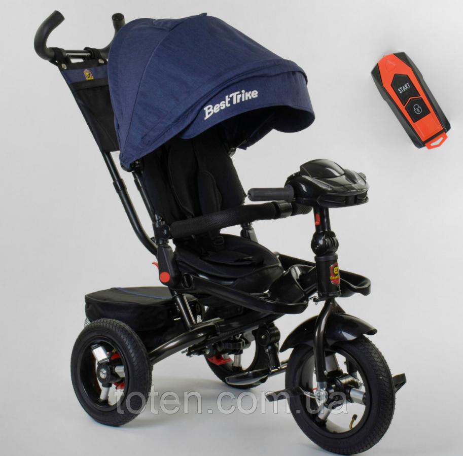 Велосипед 3-х колёсный 6088 F -  03-108 Best Trike, пульт. фара с USB, поворотное сидение, складной руль