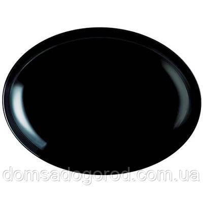 Блюдо Luminarc Assiette Mezze black 29 см
