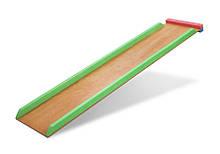 Детская деревянная горка длина 150 см к спортуголку SportBaby