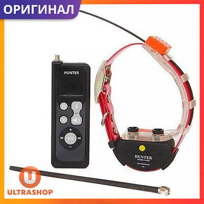 Радио Ошейник с GPS без СИМ карты для охотничьих собак HUNTER-25000 (GT25) Original • Водонепроницаемый