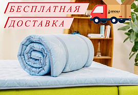 Ортопедичний топер Рол Ап Зелений чай DORMEO 100х200