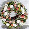 Декоративный венок 32 см пасхальное украшение