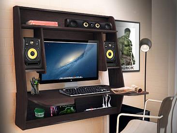 Геймерский навесной стол  ZEUS IGROK-MAX, венге