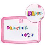 Детский обучающий набор для рисования Backpack packing 3in1   Рюкзак для творчества с магнитной доской розовый, фото 3