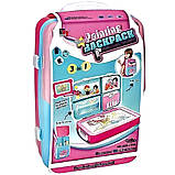 Детский обучающий набор для рисования Backpack packing 3in1   Рюкзак для творчества с магнитной доской розовый, фото 6