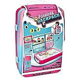 Дитячий навчальний набір для малювання Backpack packing 3in1   Рюкзак для творчості з магнітною дошкою рожевий, фото 6