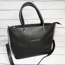 Женская сумка Mісhаеl Коrs, в стиле Майкл Корс MK, черная ( код: IBG193B )