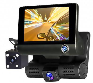 Автомобильный видеорегистратор XH202/319 ( 3 камеры ) ,авторегистратор