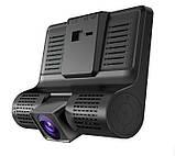 Автомобильный видеорегистратор XH202/319 ( 3 камеры ) ,авторегистратор, фото 4