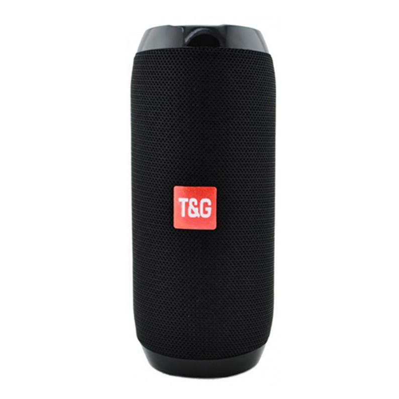 Портативна Bluetooth-колонка T&G TG-117, c функцією speakerphone, радіо, black