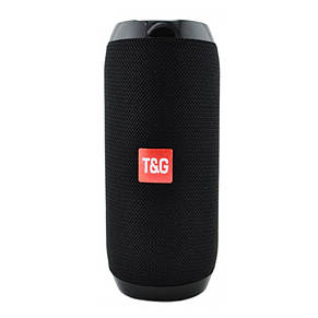 Портативна Bluetooth-колонка T&G TG-117, c функцією speakerphone, радіо, black, фото 2