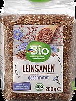 Органическое измельченное льняное семя dm Bio Leinsamen, 200 гр