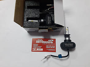 Лампа LED радиатор H3 12-24V 5000K к-т Cyclone