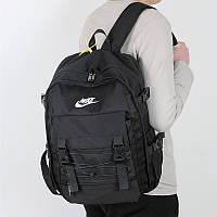 Оригинальный рюкзак Nike спортивный черный женский мужской детский для школы