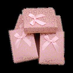 Коробочка под набор box3-4 Персиковый