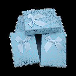 Коробочка под набор box3-4 Голубой