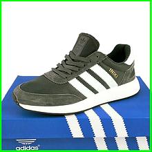 Кросівки Чоловічі Adidas Iniki Runner Boost Сірі Адідас (розміри: 44) Відео Огляд