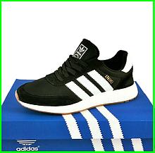 Кросівки Чоловічі Adidas Iniki Runner Boost Чорні Адідас (розміри: 46) Відео Огляд
