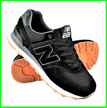 Чоловічі Кросівки New Balance 574 Чорні (розміри: 42,43,46) Відео Огляд