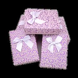 Коробочка под набор box3-4 Фиолетовый