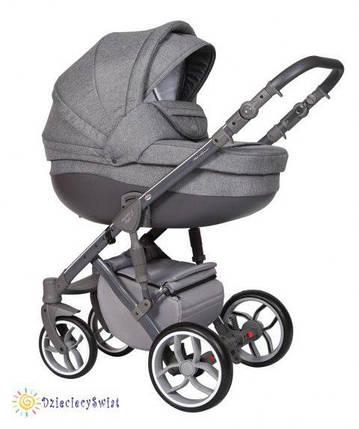 Детская универсальная коляска 2 в 1 Baby Merc Faster Style 3 Flll/163A, фото 2