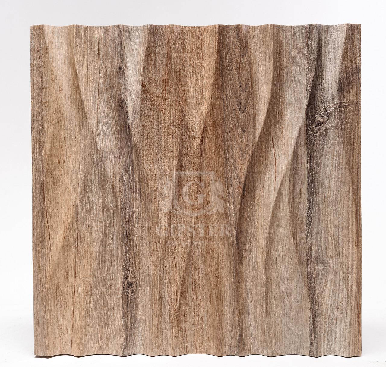 """Деревяные 3D панели """"Поток Wood"""""""