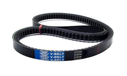 Пас вентиляторний 21-14-1650 з (21x14-1650)  АПП Синій, фото 2
