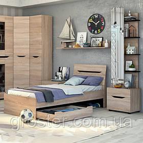 Дитяче та підліткове ліжко Аякс 80х200