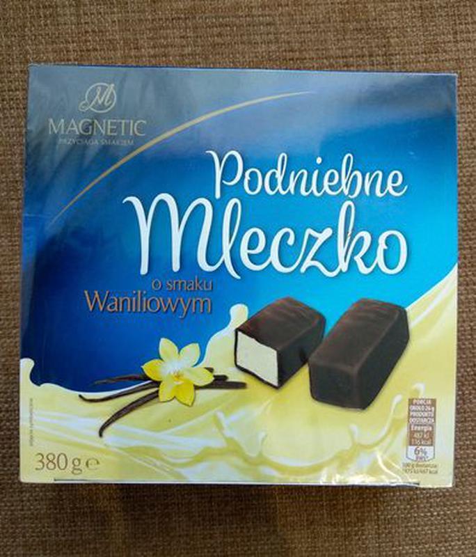Птичье молоко коробка конфет (шоколад ) Magnetic Mleczko Podniebne, 380г Польша