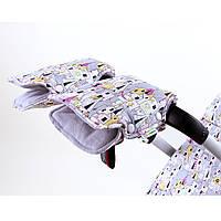Муфта для рук на коляску и санки замок принцессы Goforkid
