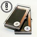 РЕСНИЦЫ I-BEAUTY PREMIUM, 20 ЛИНИЙ D 0.085 (7 мм), фото 2