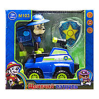 Герої ЩП з авто у коробці М103