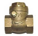 """Обратный крыльчатый клапан (хлопушка, лепестковый) 1"""" Gross, фото 6"""