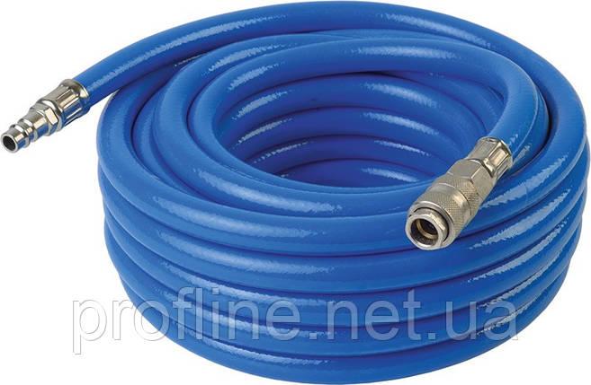 Шланг высокого давления PU/PVC армированный 9,5х16мм 20м Miol 81-353, фото 2