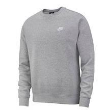 Толстовка чоловіча Nike Sportswear Club BV2666-063 Сірий L