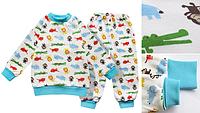 """Детская пижама для мальчика из интерлока """"boy"""" 86 Модные детки"""
