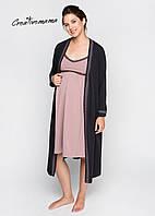 Халат и ночная сорочка в роддом для беременных dolce Creative Mama