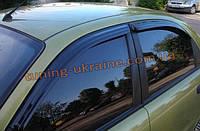 Дефлекторы окон (ветровики) Auto Clover для DAEWOO LANOS 97-2010 седан, фото 1